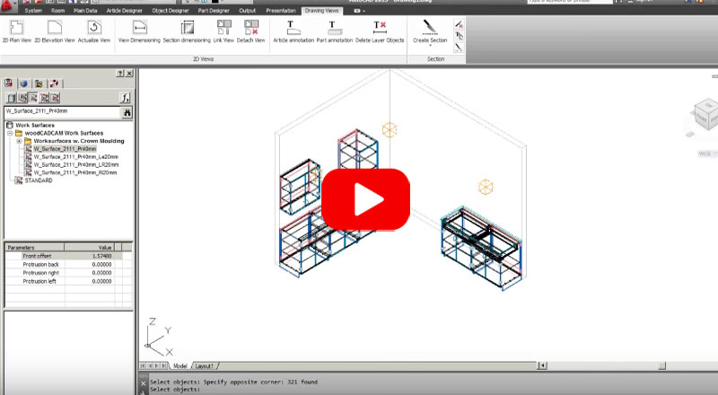 quick tip woodCADCAM architectural submittals