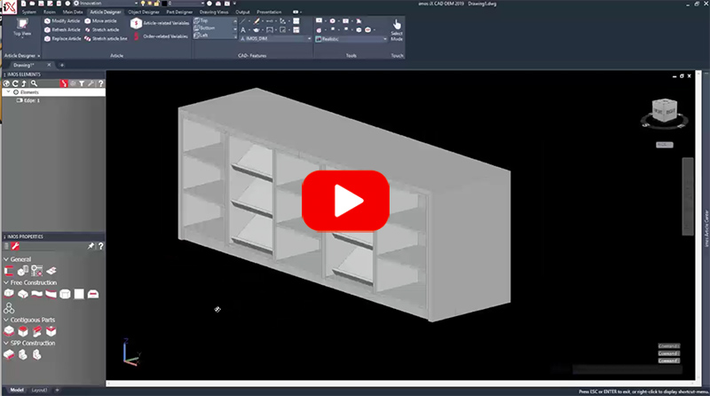 AutoCAD Based Woodworking Engineering & Manufacturing Software