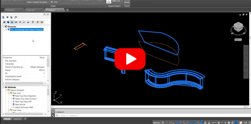 product demonstration woodCAD|CAM - Engineering Software