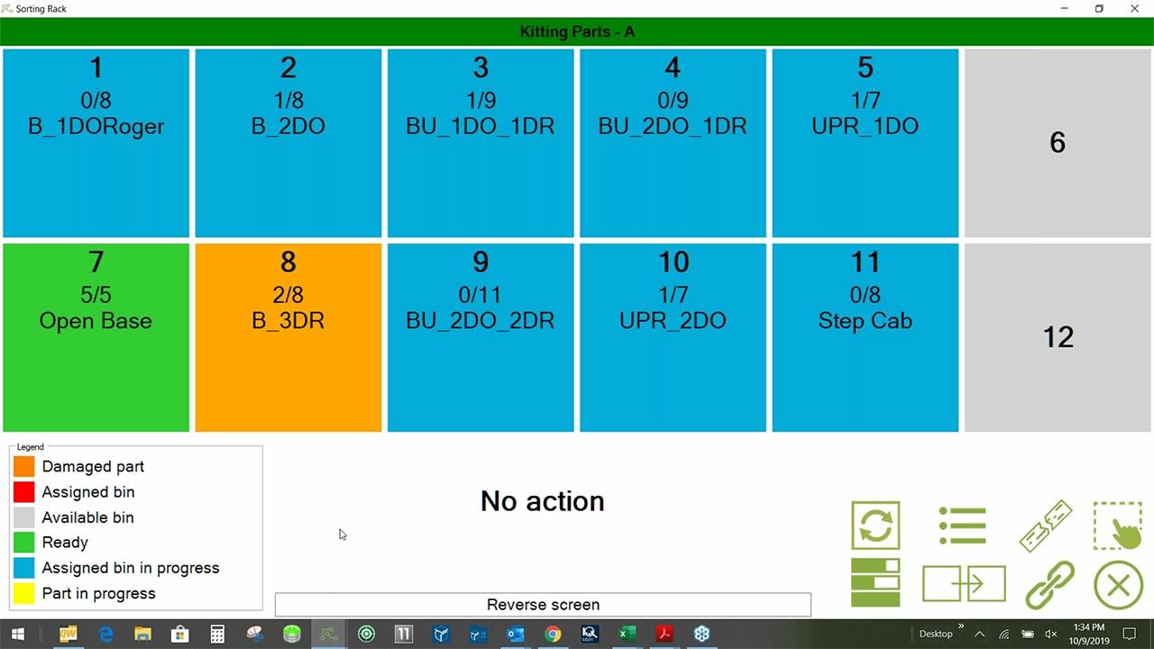 Production Coach - Interface -  Damaged Part Alert