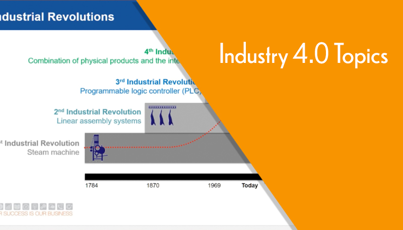 webcast industry 4.0 topics -woodworking manufacturing software