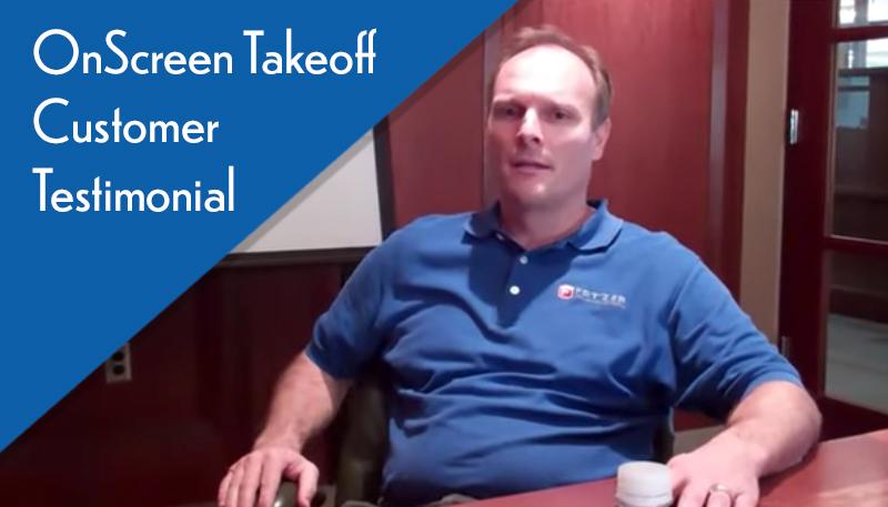 Fetzers Customer Testimonials On-Screen Takeoff
