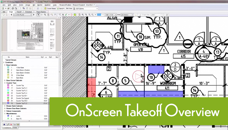OnScreen Takeoff Software Overview