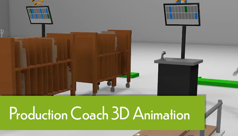 Production Coach Factory Animation