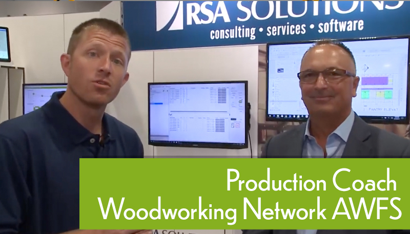 RSA Solutions Woodworking Network At AWFS 2017