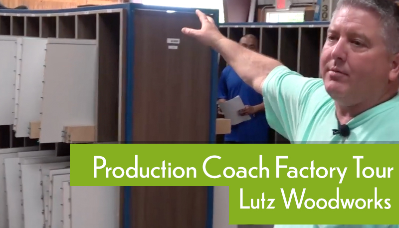 Lutz Woodworks Production Coach Factory Video