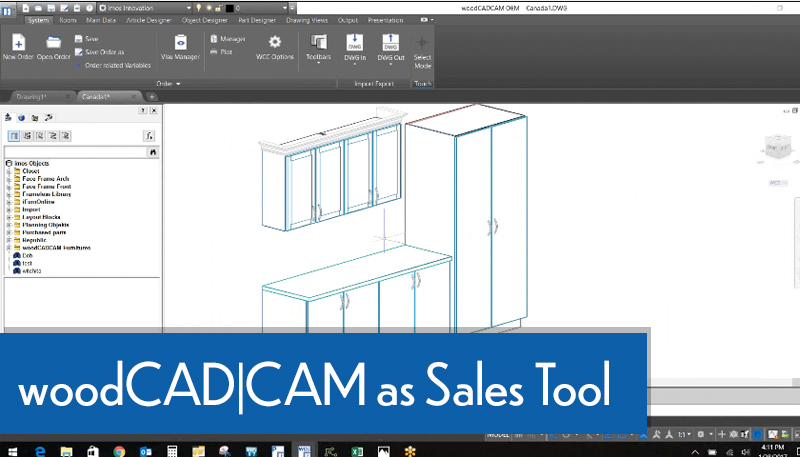 woodCADCAM As A sales tool