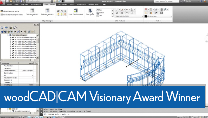 webcast - woodCADCAM  Visionary Award Winner