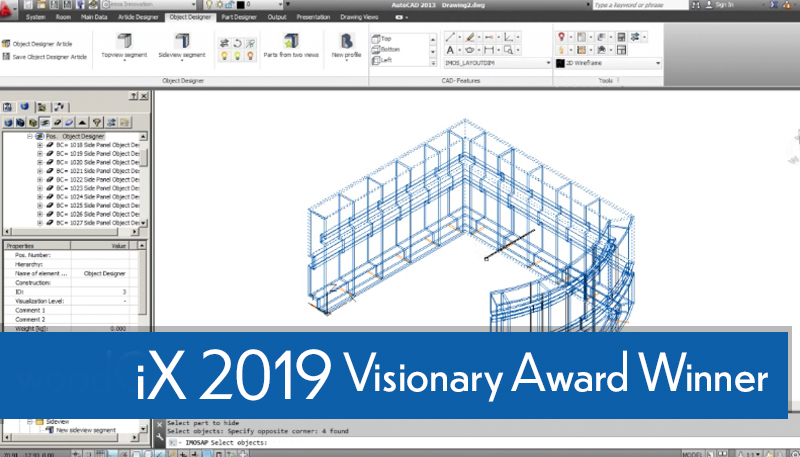 webcast - iX 2019  Visionary Award Winner