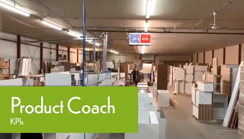 Production Coach Factory Tour KPIs