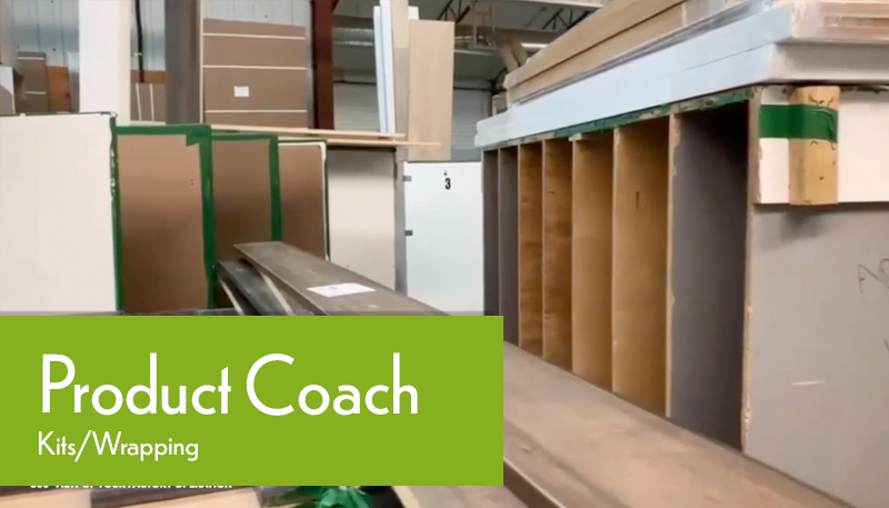 Production Coach Factory Tour Kits/Wrapping