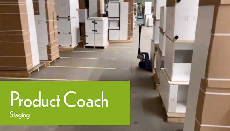 Production Coach Factory Tour Staging