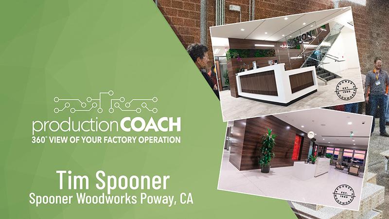 Webcast: Production Coach Success Stories ~ Spooner Woodworks