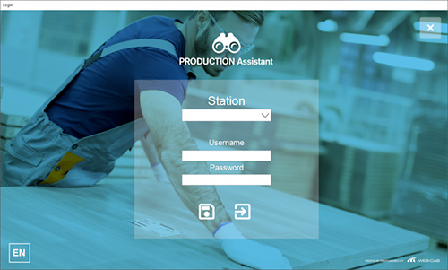 Production Coach New Login Page